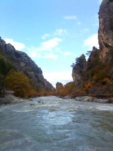 Trekking, Davalista gorge