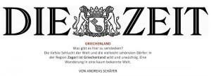 zeit online about zagori griechenland