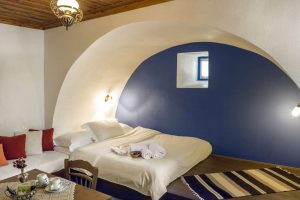 Accomodation: Classic Double Room (2pax): 20 square meters of total private space, One Double Bed, Laura Ashley Linens, Coco-Mat Mattresses and Pillows, En-Suite Bathroom, Hair Dryer, Bathroom Amenities, Scented Candles, Coffee/Tea Making Facilities, Daily Housekeeping, Bathtub, Rainfall Showerhead, Free Wi-Fi, Pillow Menu | Zagorohoria